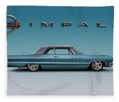'64 Impala Ss Fleece Blanket