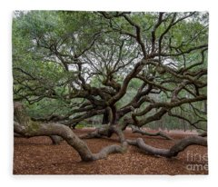Mighty Branches Fleece Blanket