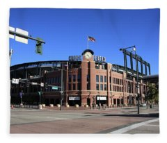 Coors Field - Colorado Rockies Fleece Blanket