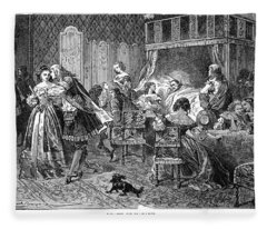 Jules Mazarin (1602-1661) Fleece Blanket