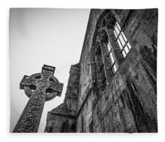700 Years Of Irish History At Quin Abbey Fleece Blanket