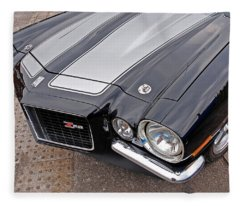 71 Camaro Z28 Fleece Blanket