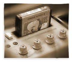 8-track Tape Player Fleece Blanket