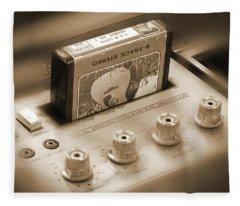 8-track Tape Player Fleece Blanket