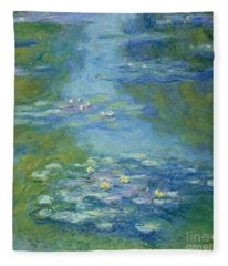 Lilly Pad Fleece Blankets