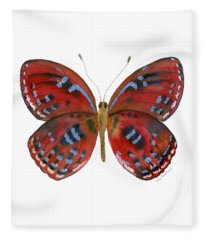 81 Paralaxita Butterfly Fleece Blanket