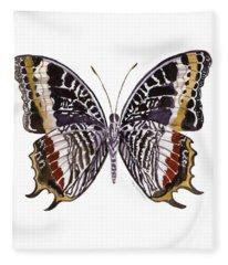 88 Castor Butterfly Fleece Blanket
