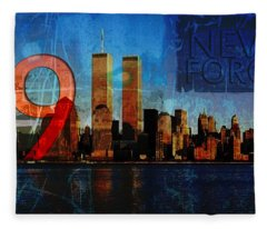 911 Never Forget Fleece Blanket
