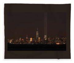 9.11.2014  View From Staten Island Fleece Blanket