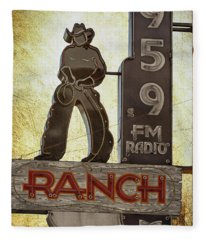 95.9 The Ranch Fleece Blanket