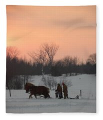 A Breath Of Fresh Air Fleece Blanket