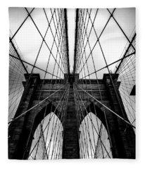 Bridges Fleece Blankets