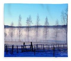 A Day Off Fleece Blanket