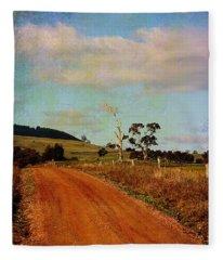 A Different Road ... Fleece Blanket