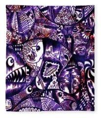 A Disturbing Dream Fleece Blanket