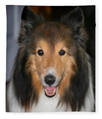 A Dog Named Beau Fleece Blanket