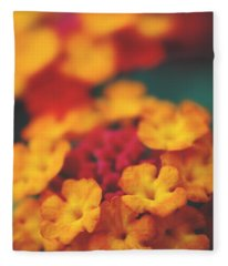 A Fiery Love Fleece Blanket