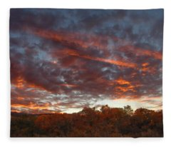 A Grand Sunset 2 Fleece Blanket