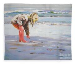 A Great Shell Fleece Blanket