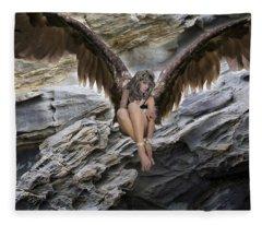 A Guardian Angel Fleece Blanket