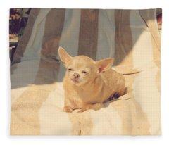 A Life Of Leisure Fleece Blanket