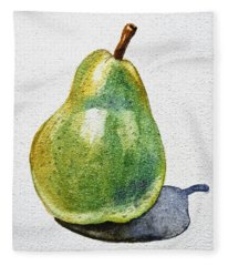 A Pear Fleece Blanket