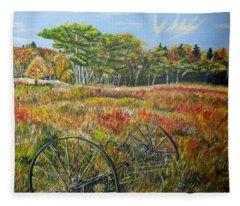 A Prairie Treasure Fleece Blanket