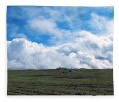 A Simple Majesty Fleece Blanket