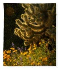 A Southwestern Spring  Fleece Blanket