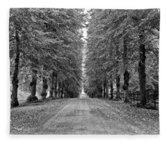 A Straightforward Path Fleece Blanket