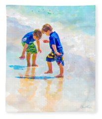 A Summer To Remember Iv Fleece Blanket