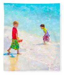 A Summer To Remember V Fleece Blanket