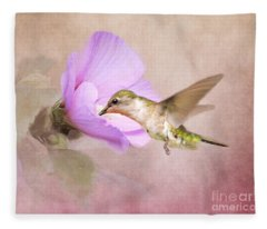 A Taste Of Nectar Fleece Blanket