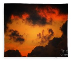 A Textured Morning Fleece Blanket