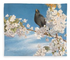 A Voice Of Joy And Gladness Fleece Blanket