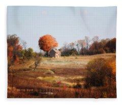 A Walk In The Meadow Fleece Blanket