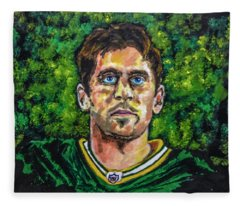 Aaron Rodgers Fleece Blanket