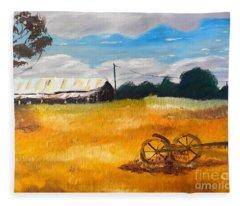 Abandon Farm Fleece Blanket