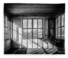 Abandoned Sugar Mill Fleece Blanket