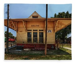 Abilene Station Fleece Blanket