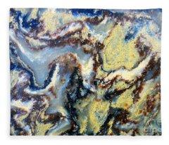Patterns In Stone - 95 Fleece Blanket