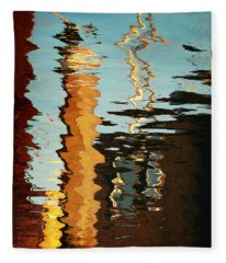 Abstract 14 Fleece Blanket