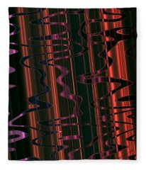 Abstract 327 Fleece Blanket