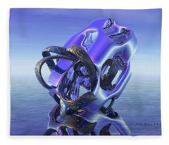Abstract 333 Fleece Blanket