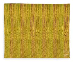 Abstract Autumn Forest Fleece Blanket