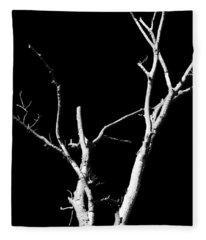 Abstract Branches Fleece Blanket