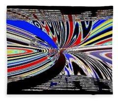 Abstract Fusion 197 Fleece Blanket