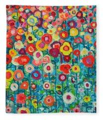Plein Aire Fleece Blankets