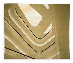 Abstract Geometry Fleece Blanket