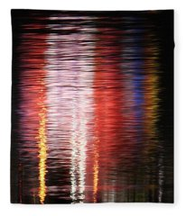Abstract Realism Fleece Blanket